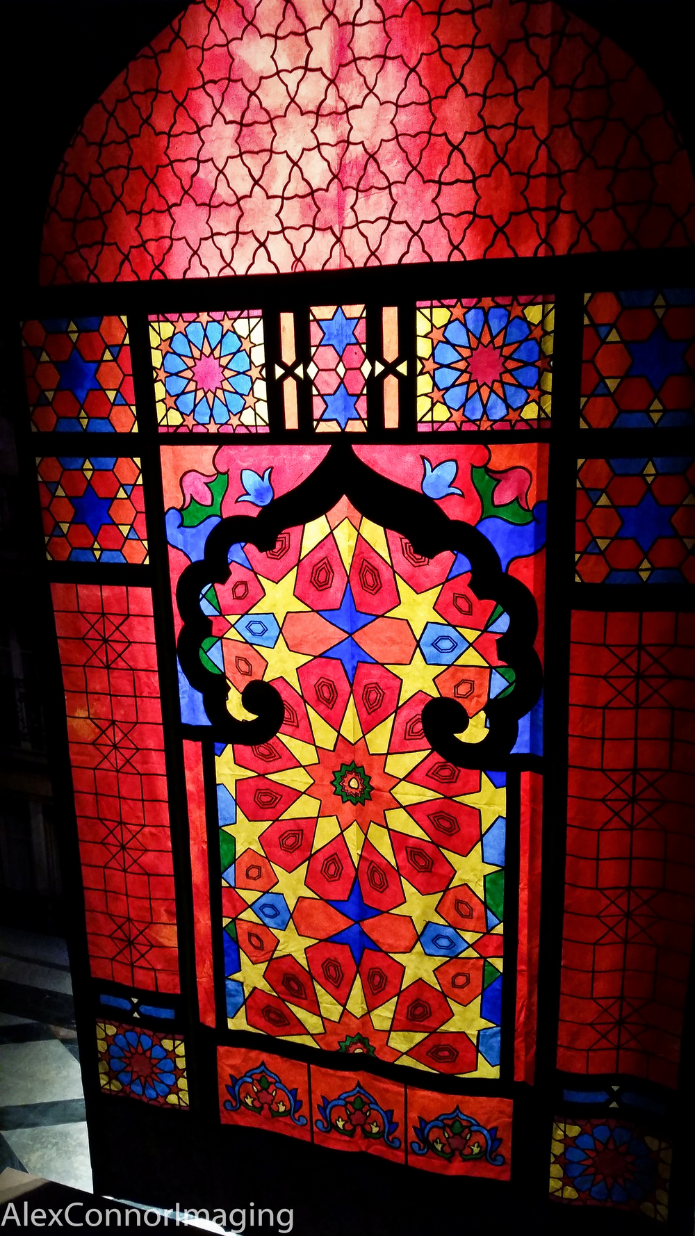 Completed Stained Glass