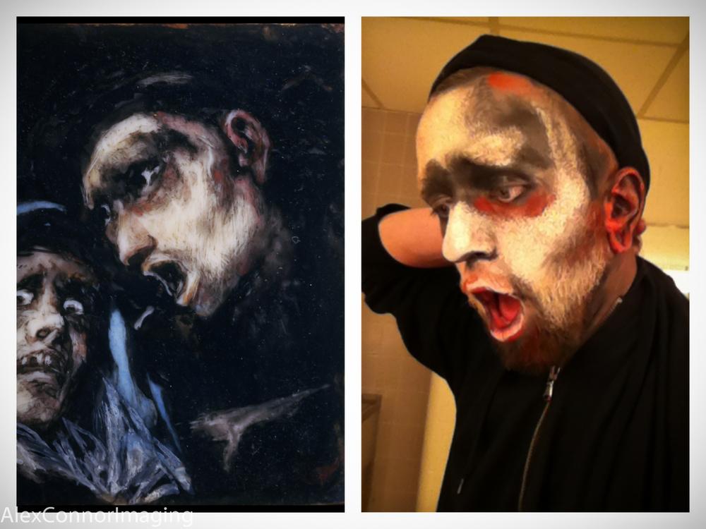 Portrait reproduction- Goya