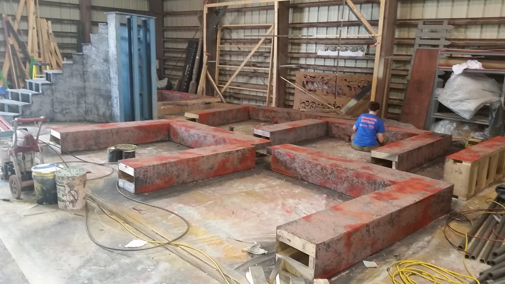 Wall Structure In Progress