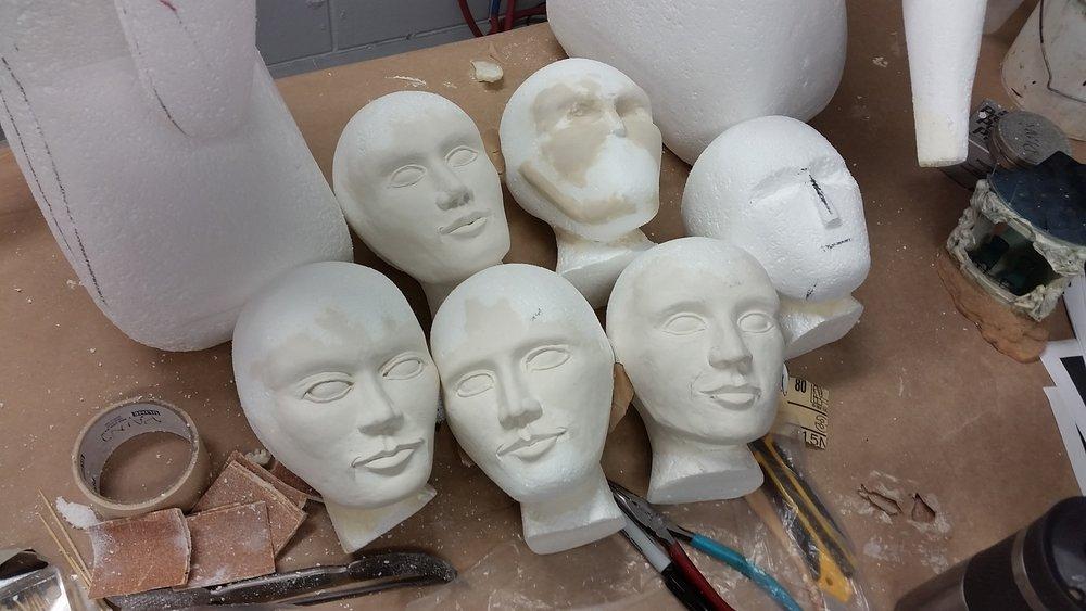 In Progress Face Sculpt