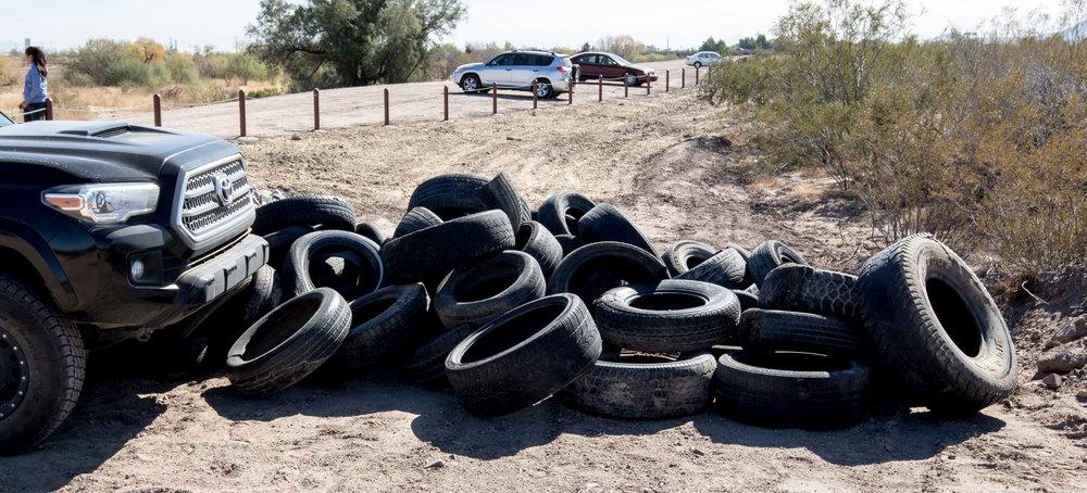 Beginning of the tire pile.jpg