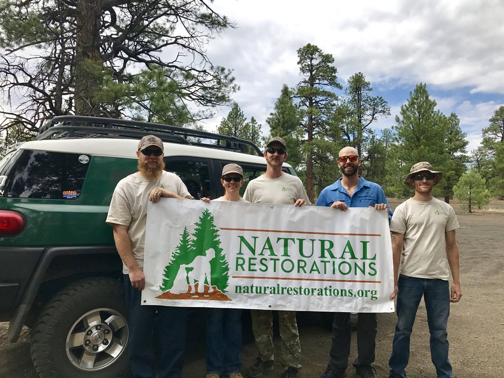 Cinder Hills OHV Area - July 2017 - In July, our Dedicated Restoration Team Removed 4,740 pounds of trash, including thousands of nails from illegally burned pallet fires burned on roads & trails, from the Cinder Hills OHV Area in Flagstaff.Click HERE to see pictures from this project.