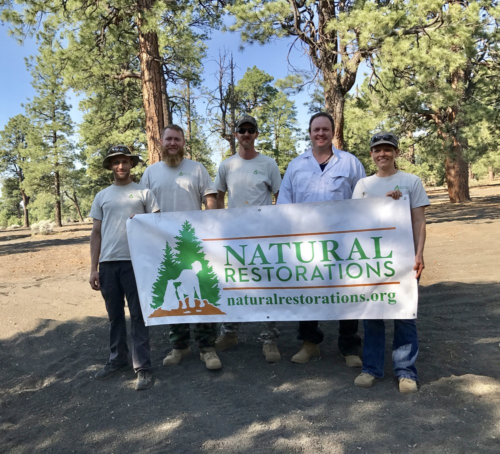 Cinder Hills OHV Area - June 2017 - In June, our Dedicated Restoration Team Removed 2,300 pounds of trash, including thousands of nails from illegally burned pallet fires burned on roads & trails, from the Cinder Hills OHV Area in Flagstaff.Click HERE to see pictures from this project.