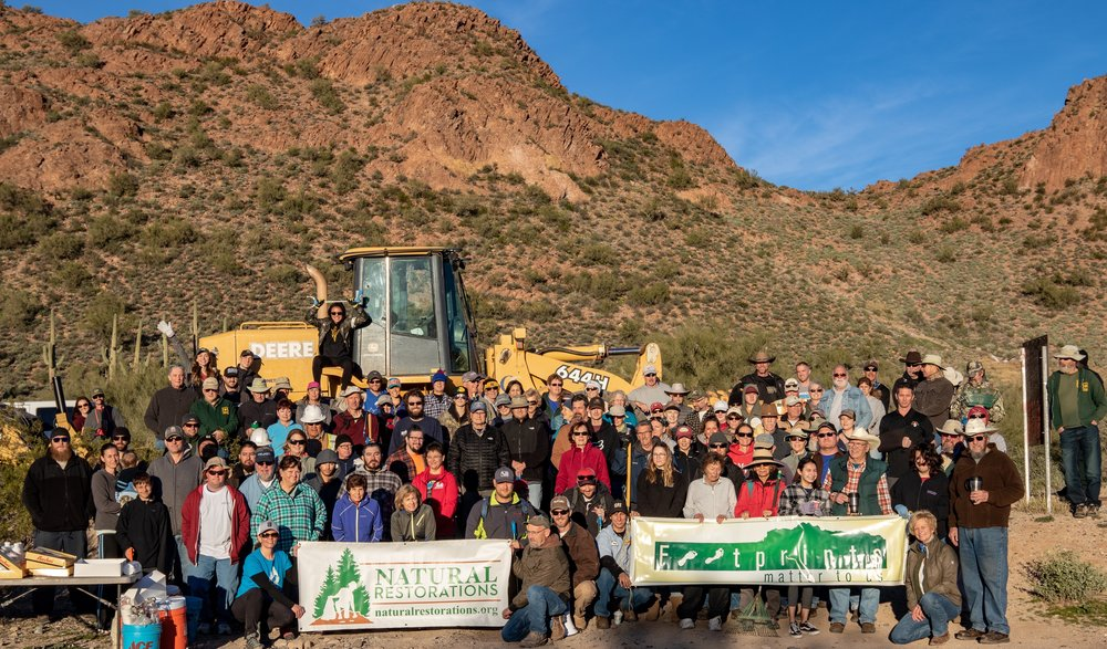 01/19/19 - 10th Annual Environmental Stewardship Event with Footprints Matter to Us at Hewitt Station.Click HERE to view the project.