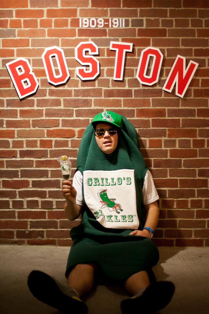 Fenway Park Grillos Pickles