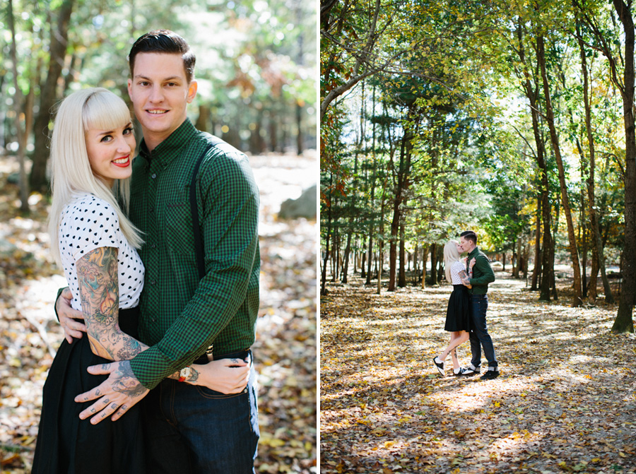 Southwick Zoo Engagement Photography