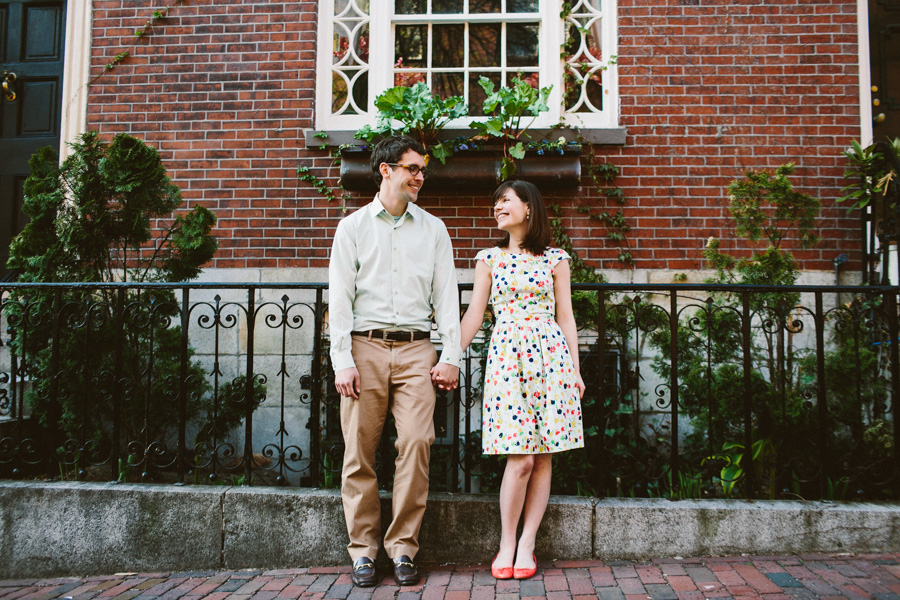 Boston Engagement Photography
