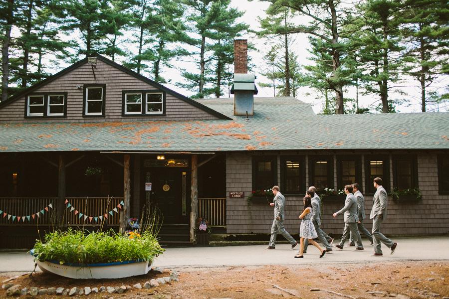 Camp Kiwanee Wedding Party