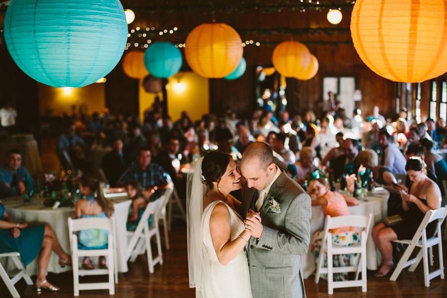 Camp Kiwanee Wedding Reception