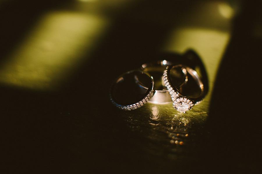 Camp Kiwanee Wedding Rings