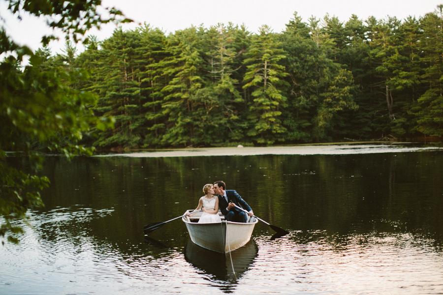 New England Camp Wedding