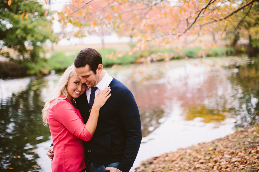 Fall boston engagement session