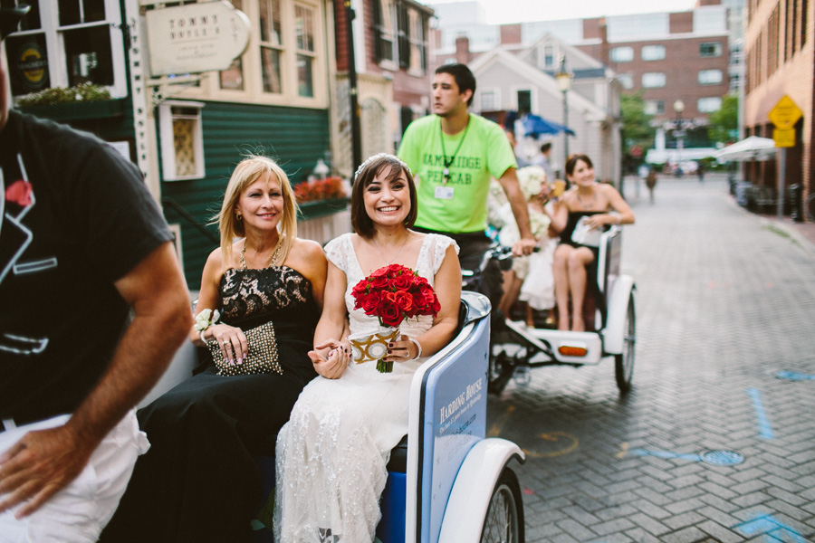 Pedicab Wedding