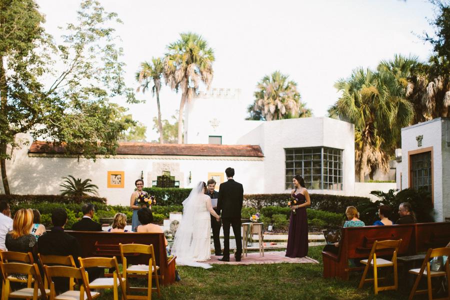 Orlando Outdoor Wedding Ceremony