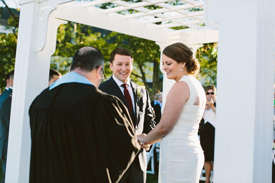 Salem Waterfront Hotel Outdoor Wedding Ceremony