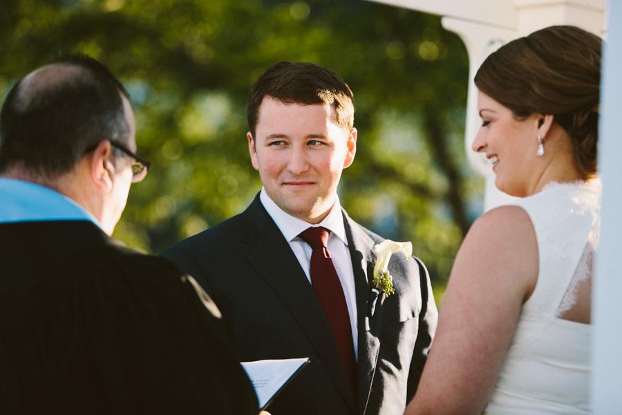 Salem Waterfront Hotel Outdoor Wedding