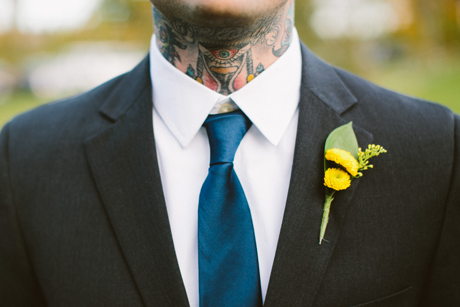 Tattooed Groomsmen