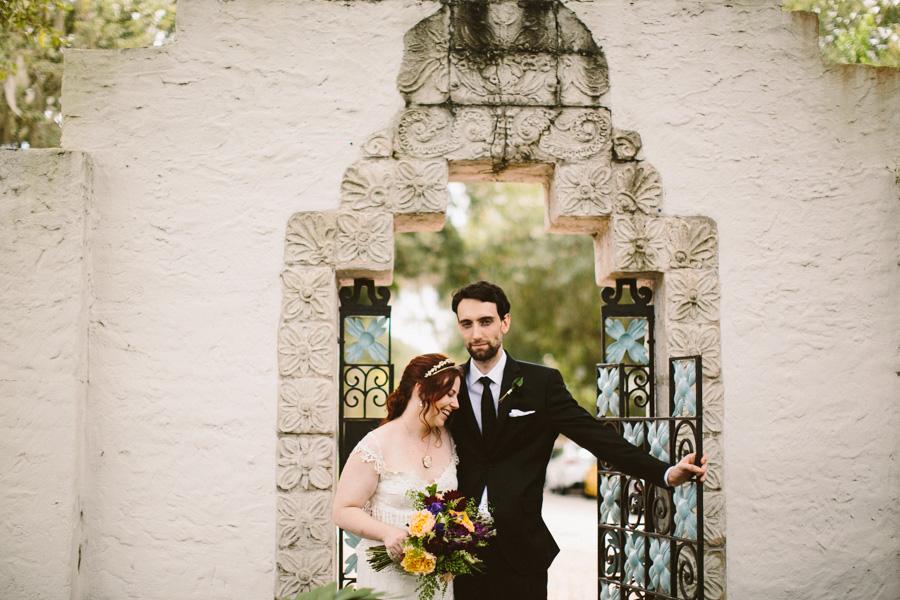 Maitland Bride and Groom