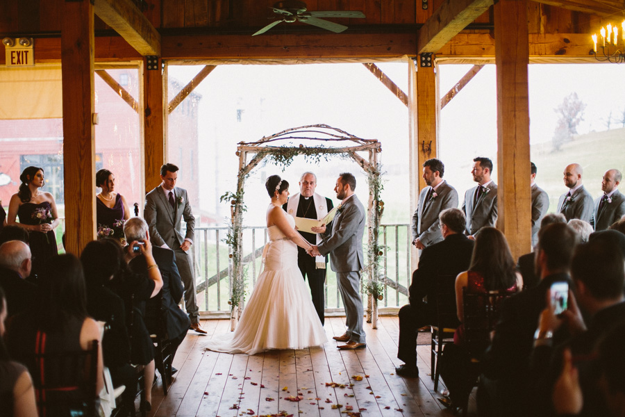 The Barn at Gibbet Hill Wedding Ceremony