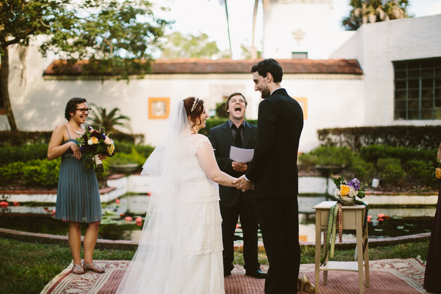 Maitland Art Center Wedding Ceremony