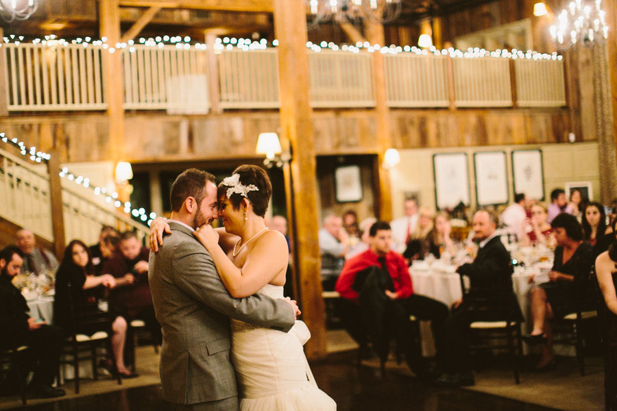 The Barn at Gibbet Hill Wedding Reception
