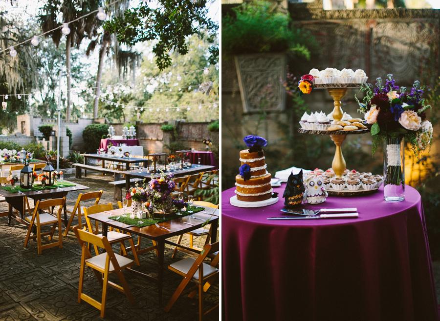 Outdoor Florida Reception