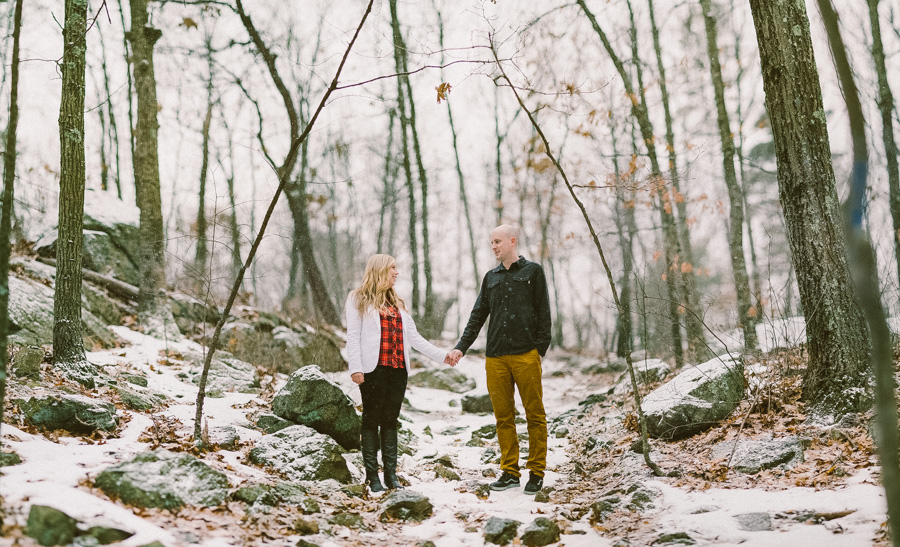 Middlesex Fells Engagement Session