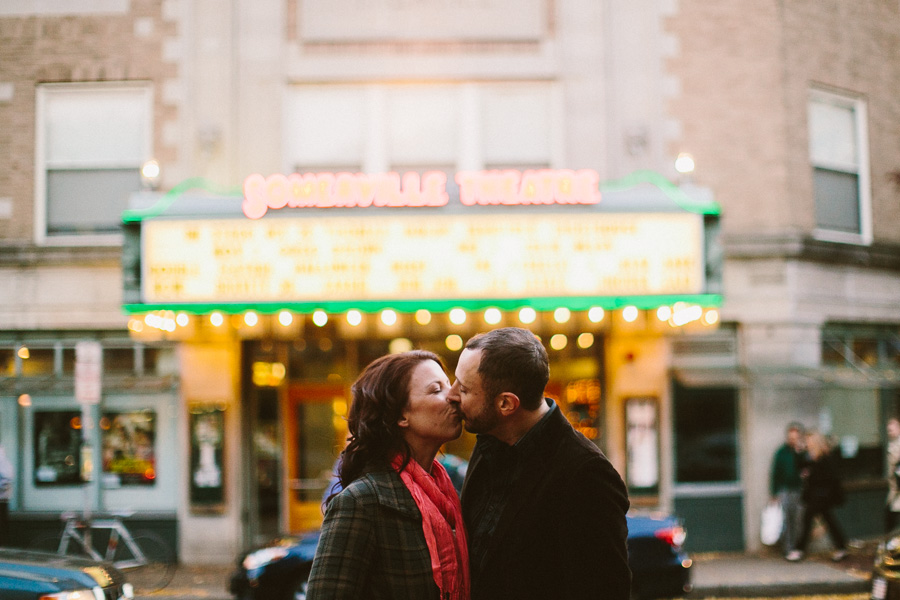 Davis Square Engagement Session