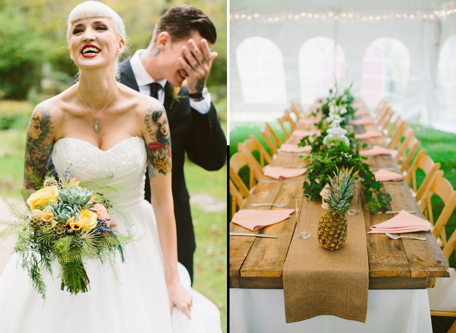 Creative Berkshires Wedding