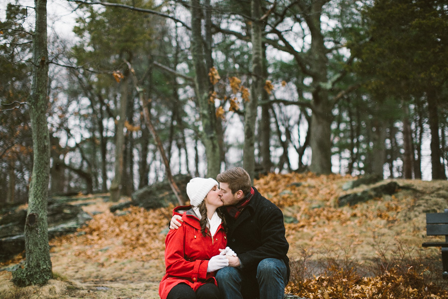 Brookline Engagement Session
