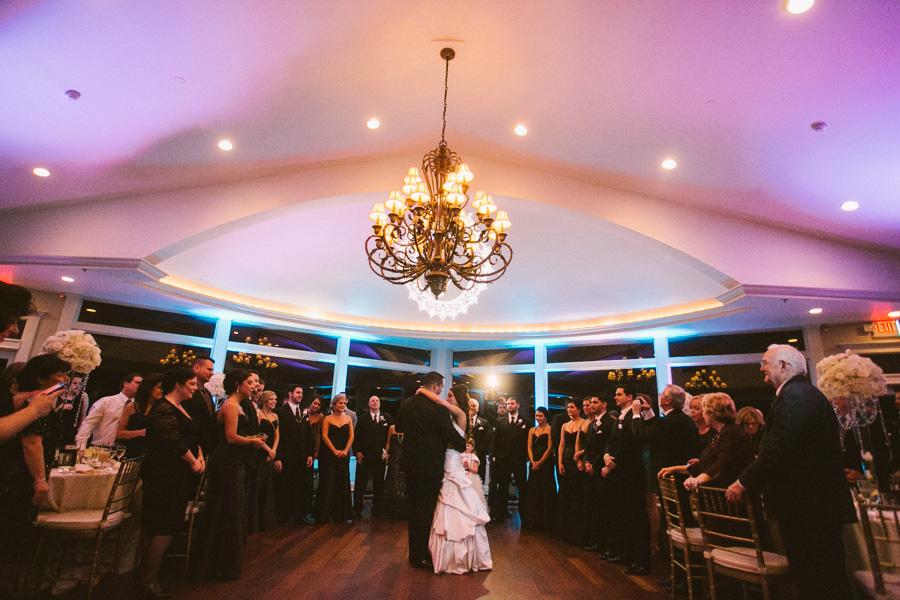 Ocean Cliff Wedding Reception