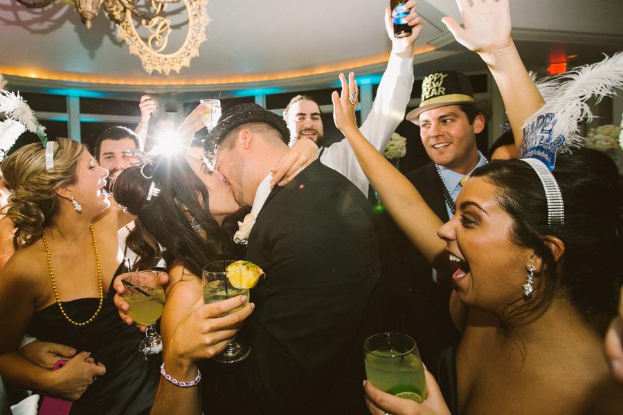 New Year's Wedding Reception