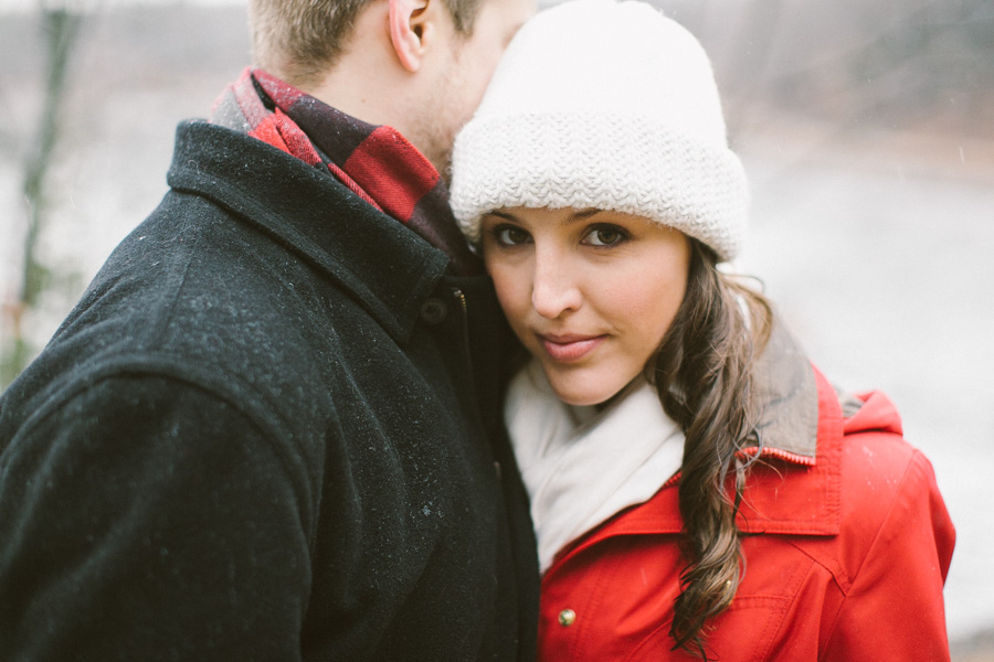 Boston Rainy Engagement Session