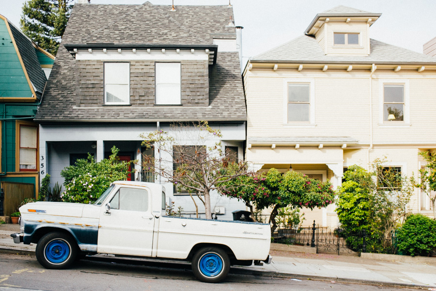 San Francisco Pick Up Truck