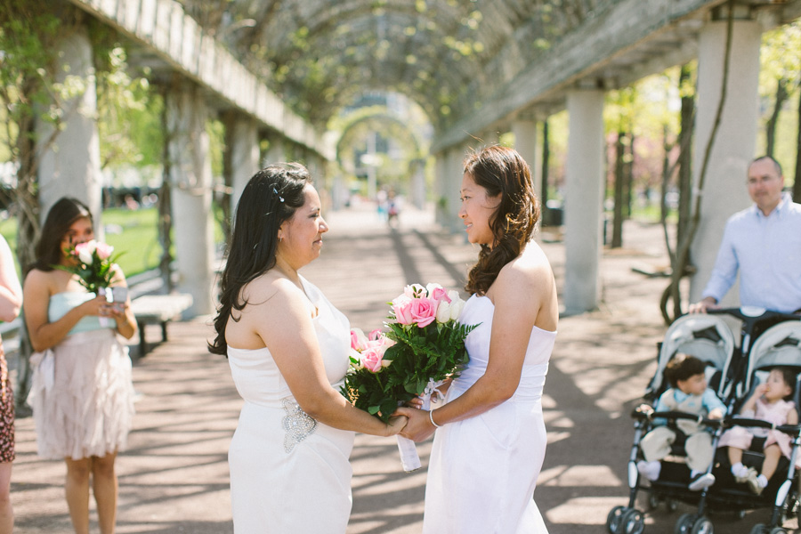 Boston Downtown Outdoor Wedding