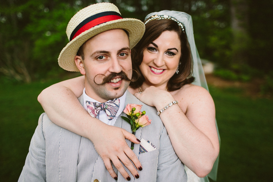 Hipster New England Wedding