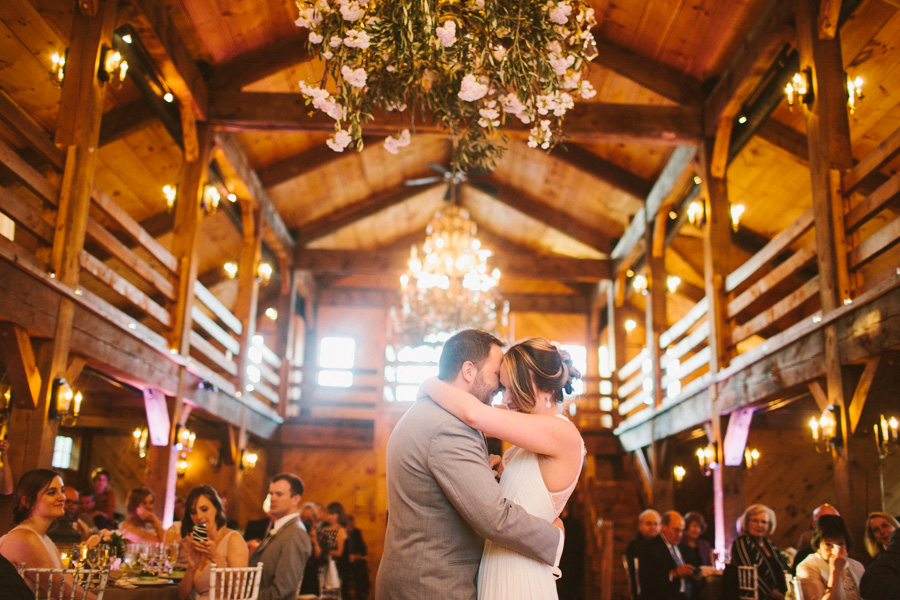 Massachusetts Barn Wedding Reception