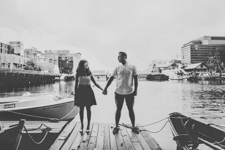 Creative Downtown Boston Wedding Photographer