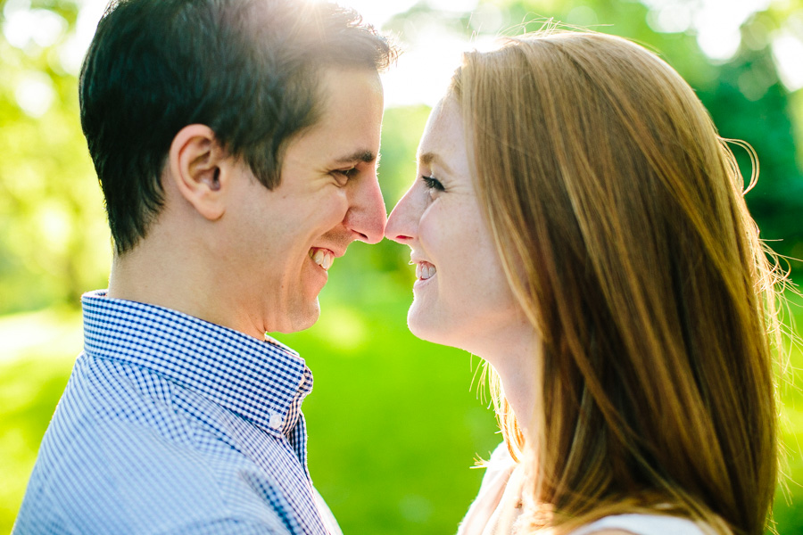 Intimate Boston Engagement Session
