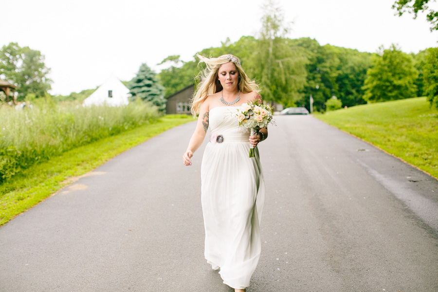 Rustic New England Bride