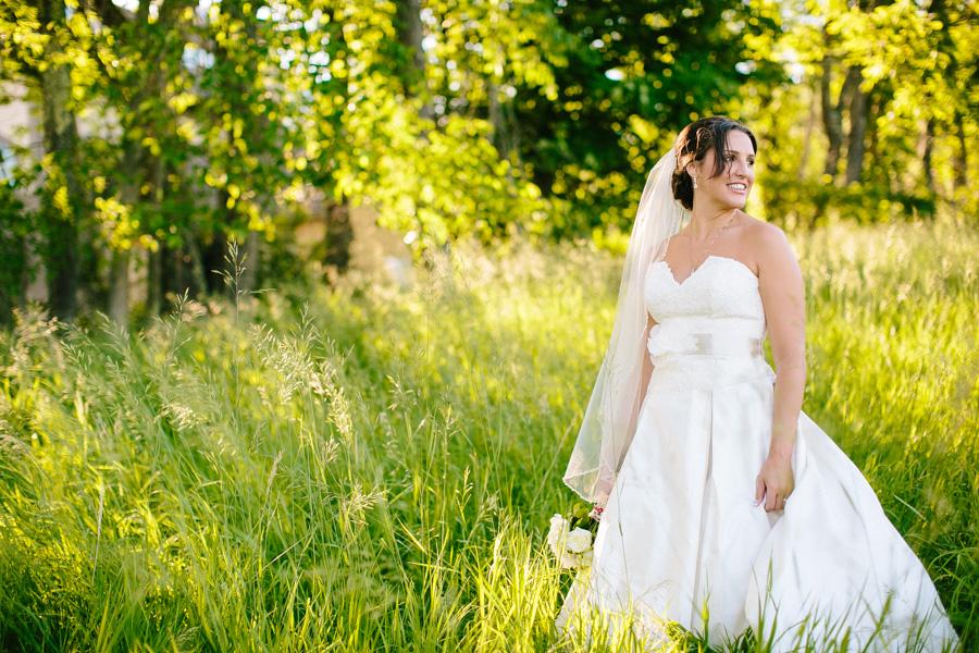 New Hampshire Bridal Portrait