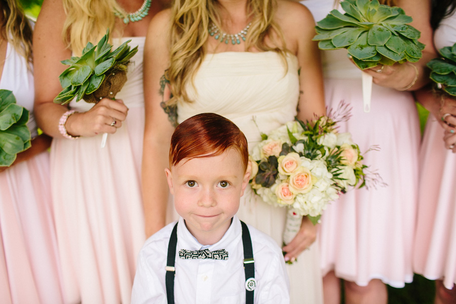 Adorable Bridal Party Photo