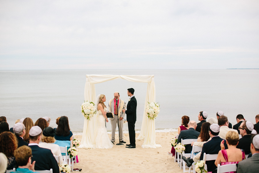 Creative Cape Cod Wedding Ceremony