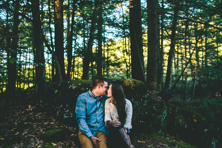 Bigelow Hollow State Park Engagement Session