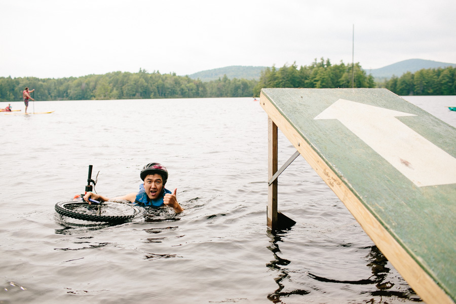 New Hampshire Summer Camp Wedding Photography