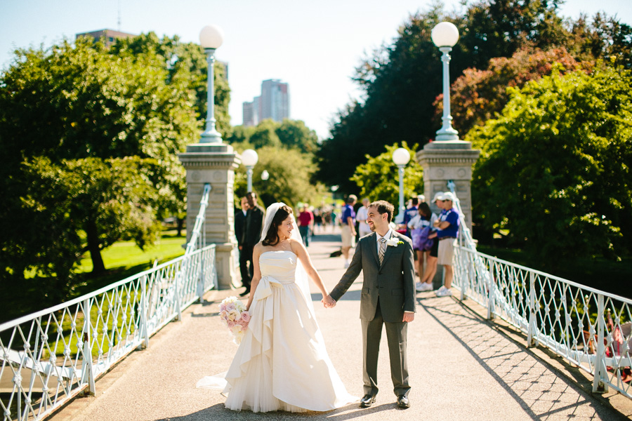 Downtown Boston Wedding Photography