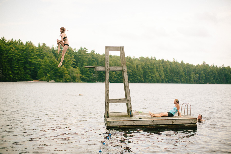 New England Summer Camp Wedding Photography