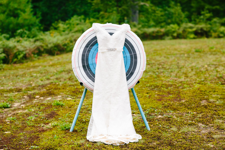 Summer Camp Wedding Dress