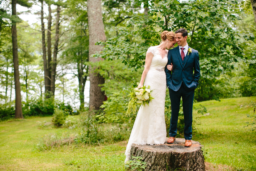New England Summer Camp Wedding Photographer