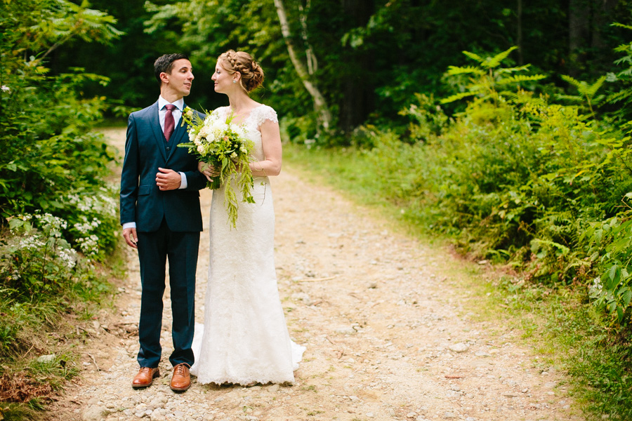 New England Summer Camp Wedding Ceremony
